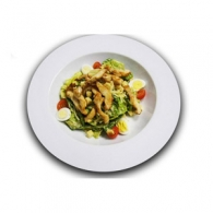 Cалат Цезарь с курицей, Salad Caesar with chicken